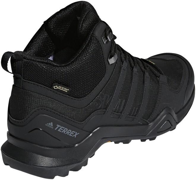 adidas TERREX Swift R2 Mid Gore Tex Chaussures de randonnée Homme, core blackcore blackcore black